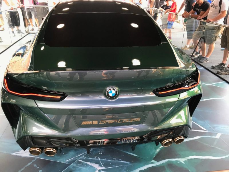 2018 BMW M8 Concept Gran Coupe 16