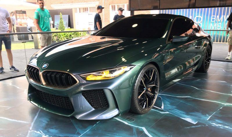 2018 BMW M8 Concept Gran Coupe 8