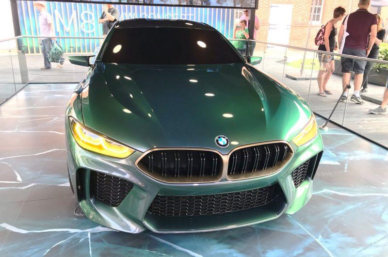 2018 BMW M8 Concept Gran Coupe 9