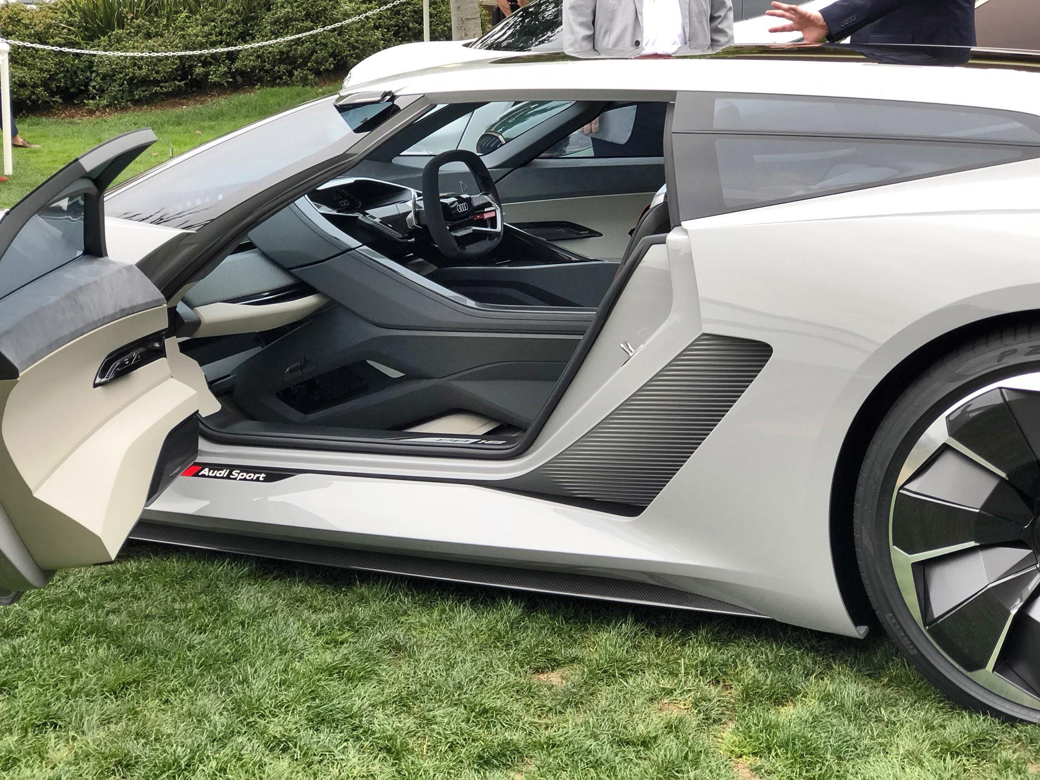 Local Car Auctions >> Pebble Beach 2018 Debut - Audi PB18 e-tron Concept - By ...
