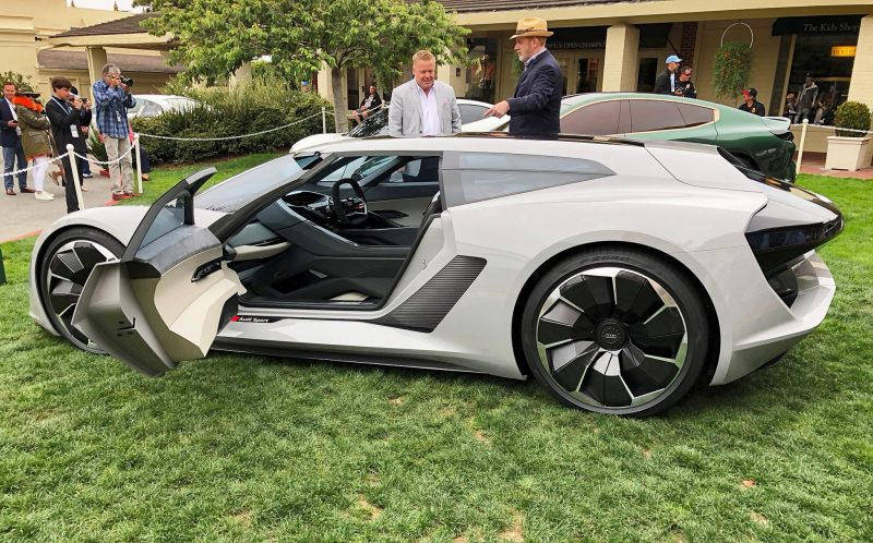 Pebble Beach 2018 Debut Audi Pb18 E Tron Concept By