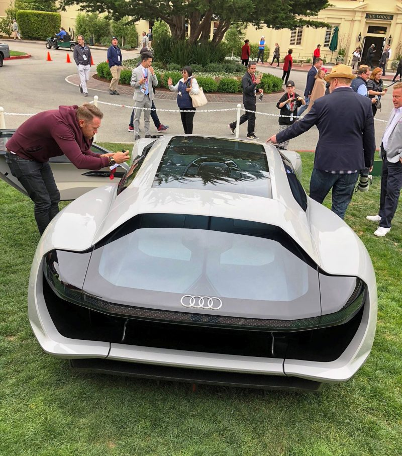Pebble Beach 2018 Debut Audi Pb18 E Tron Concept By James Crabtree