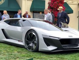 Pebble Beach 2018 Debut – Audi PB18 e-tron Concept – By James Crabtree