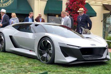 Pebble Beach 2018 Debut – Audi PB18 e-tron Concept – By James Crabtree