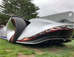 Pebble Beach 2018 – Mercedes-Benz EQ Silver Arrow Concept – By James Crabtree