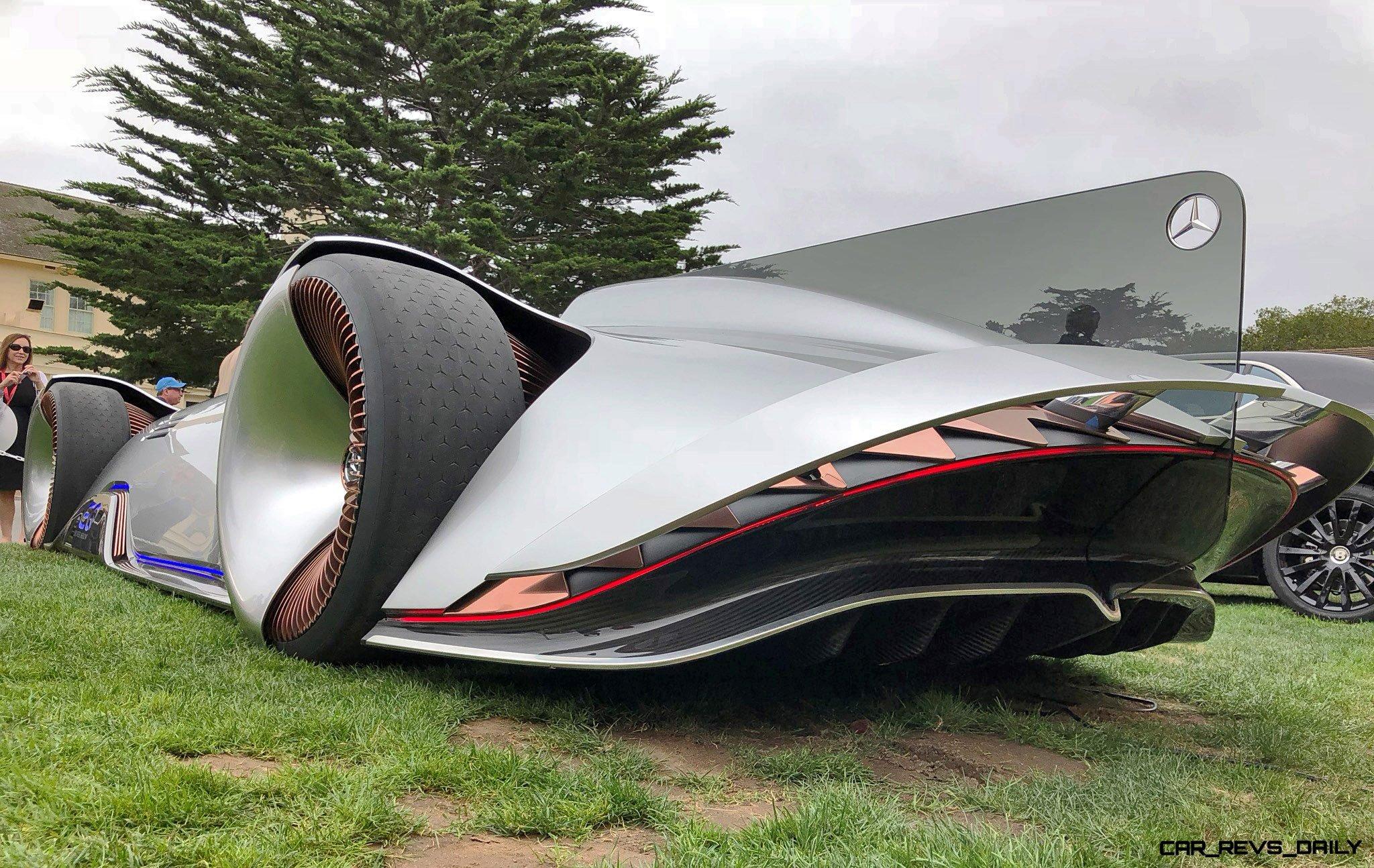 Pebble Beach 2018 - Mercedes-Benz EQ Silver Arrow Concept