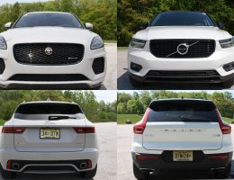 Road Test Comparision - 2019 Volvo XC40 T5 R-Design AWD Versus 2018 Jaguar E-Pace - By Carl Malek