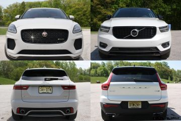Road Test Comparision – 2019 Volvo XC40 T5 R-Design AWD Versus 2018 Jaguar E-Pace – By Carl Malek