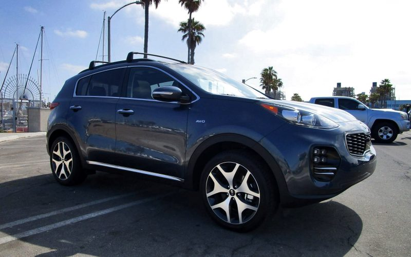 2018 Kia Sportage SX Turbo AWD 19
