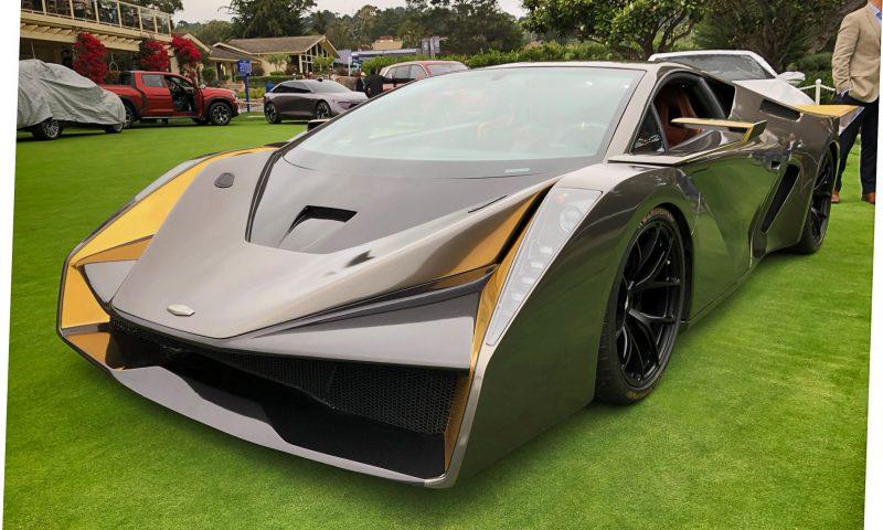 2018 SALAFF C2 Supercar Concept 13