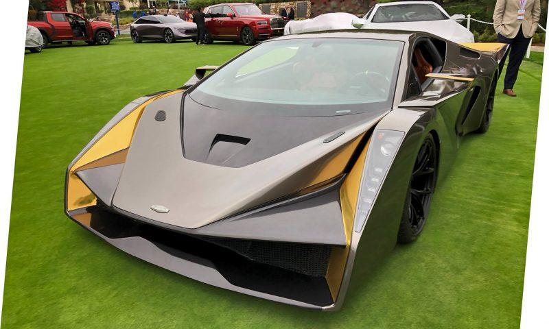 2018 SALAFF C2 Supercar Concept 21