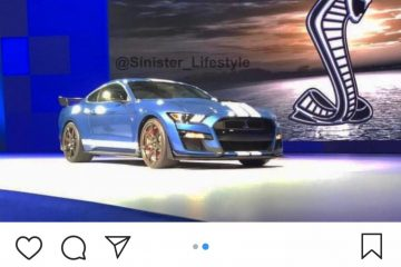 2020 Ford Shelby Mustang GT500 Leaked Ahead of Unveiling [ Video]
