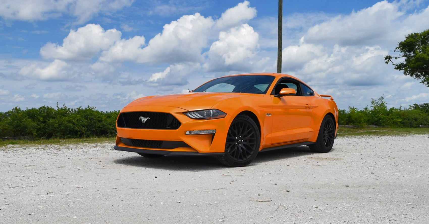 2018 Ford Mustang 5 0 Gt 6mt Performance Pack Road Test