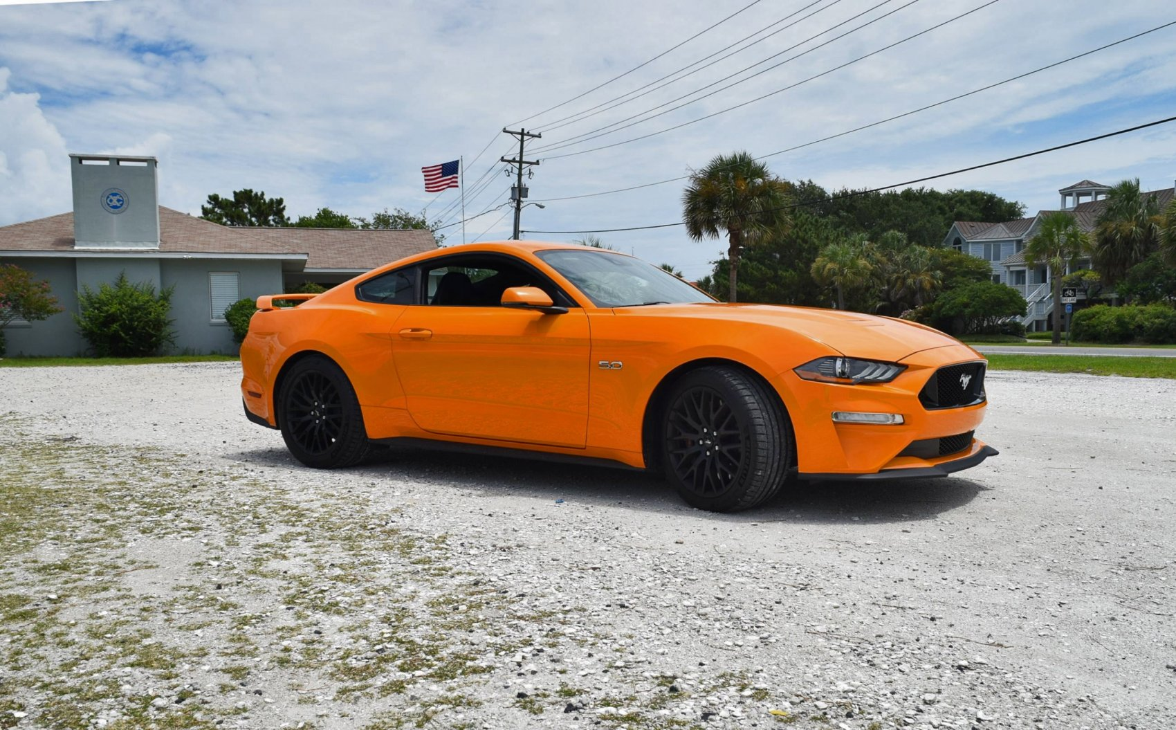 2018 Ford Mustang Gt 5 0 6mt Performance Pack Orange 25