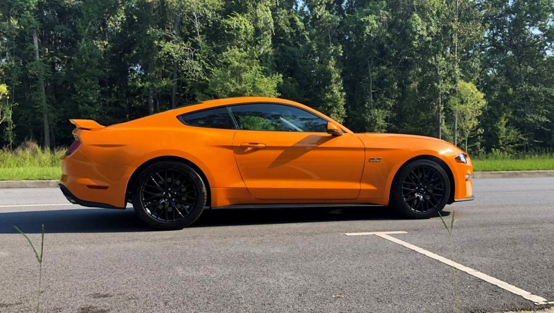 2018 Ford Mustang GT Orange 5 copy