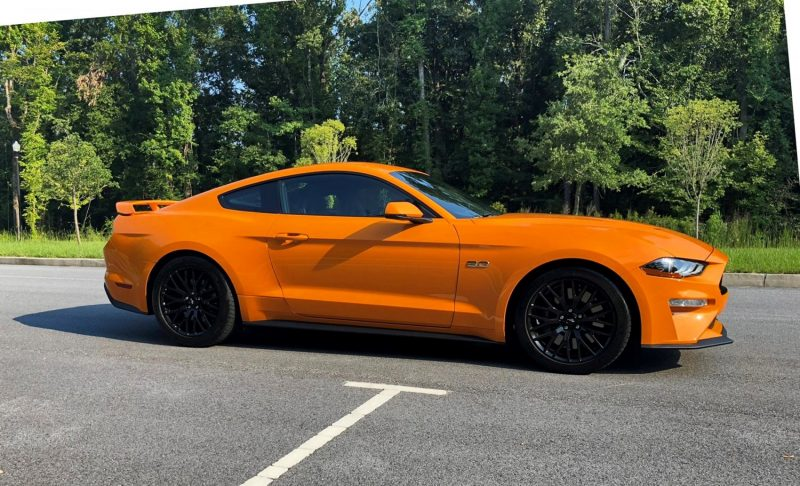 2018 Ford Mustang GT Orange 7 copy
