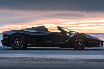 2017 Ferrari LaFerrari Aperta Expected to Earn $8 Mil at RM Sotheby's Arizona 2019