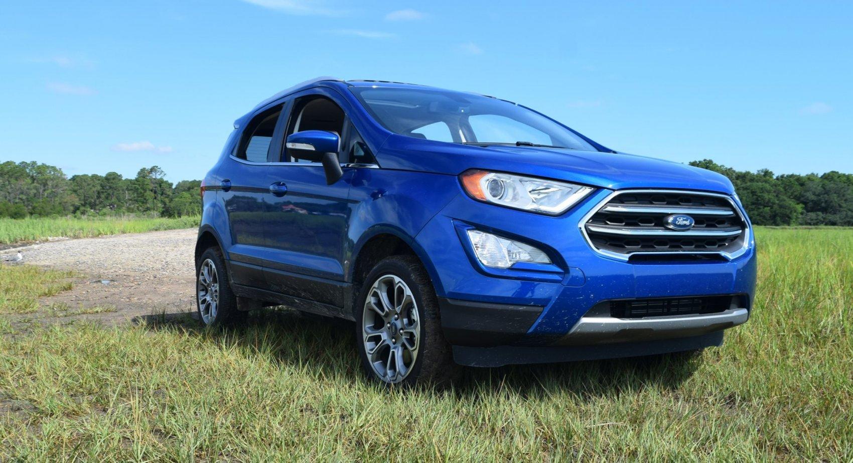 2018 Ford Ecosport 2 0l Titanium Awd Road Test Review W Drive