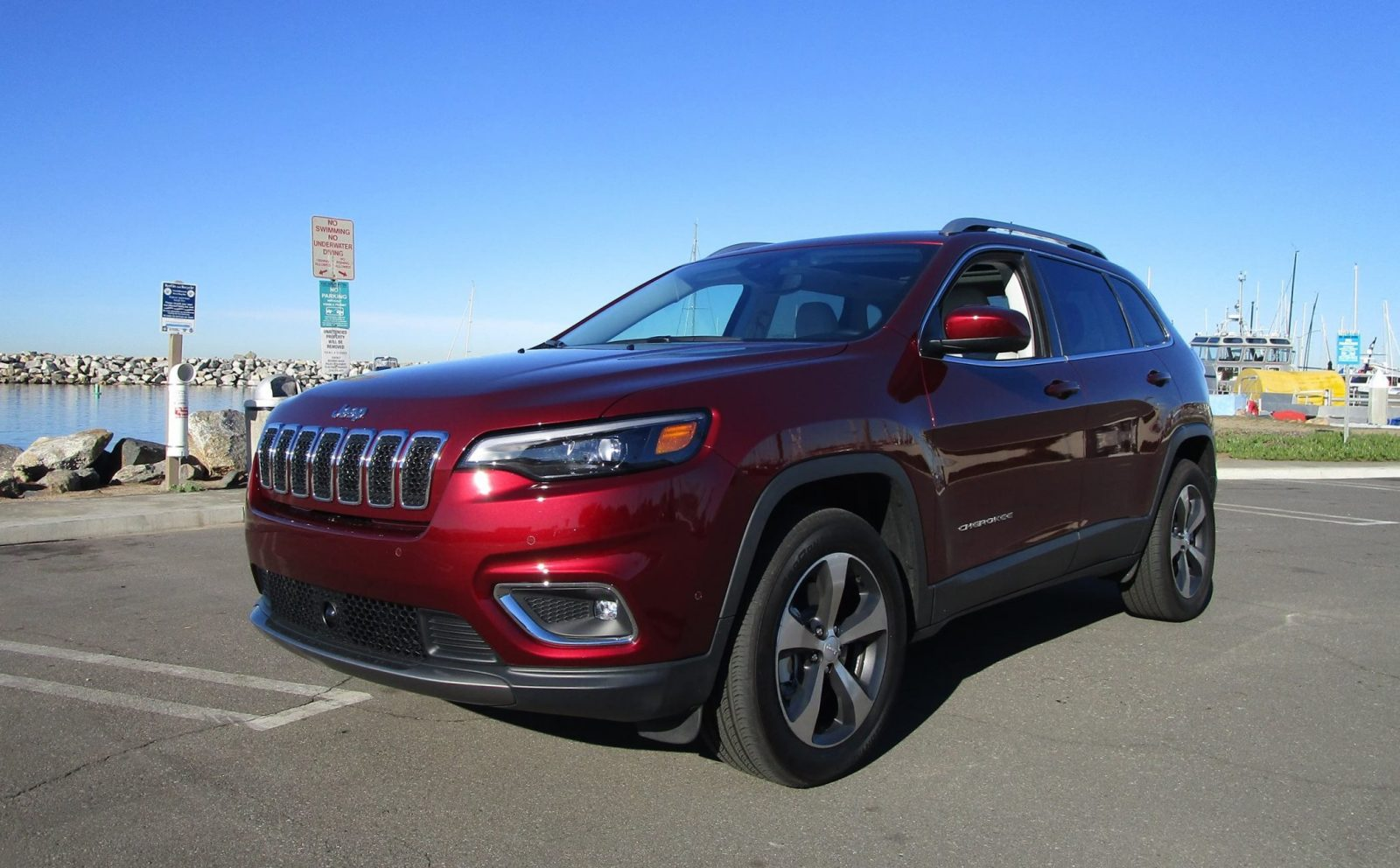 2019 jeep cherokee limited 4x4 road test review by ben. Black Bedroom Furniture Sets. Home Design Ideas
