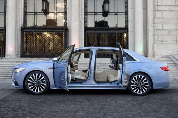 Lincoln Showcases Continental 80th Anniversary Edition, Brings Back Suicide Doors