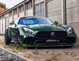 BRABUS 800 Mercedes-AMG E63-S and Widebody AMG GTS in Emerald Green by Fostla.de