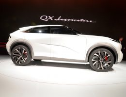2019 Infiniti QX Inspiration Concept – EV SUV Debut Gallery