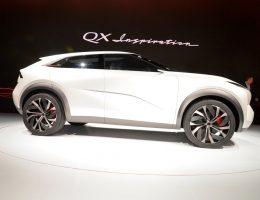 2019 Infiniti QX Inspiration Concept – EV SUV Debut Gallery