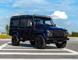 ECD Auto Design Shows New Defender 110 Azure Custom w/ Lux Upgrades + 430HP V8