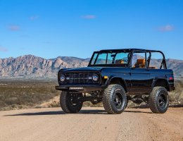 550HP 1969 Ford Bronco Supercharged by Velocity Restorations