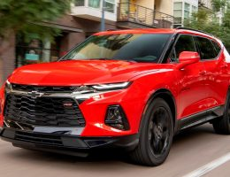 2019 Chevrolet Blazer RS - First Drive Gallery