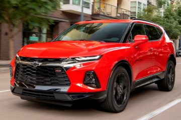2019 Chevrolet Blazer RS – First Drive Gallery