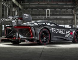 TechRules Turbine EV Racecar Shows Its Glowing Heart