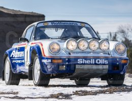 1984 Porsche 911 SC/RS – Factory Rothmans Rally Car – Gooding Amelia 2019
