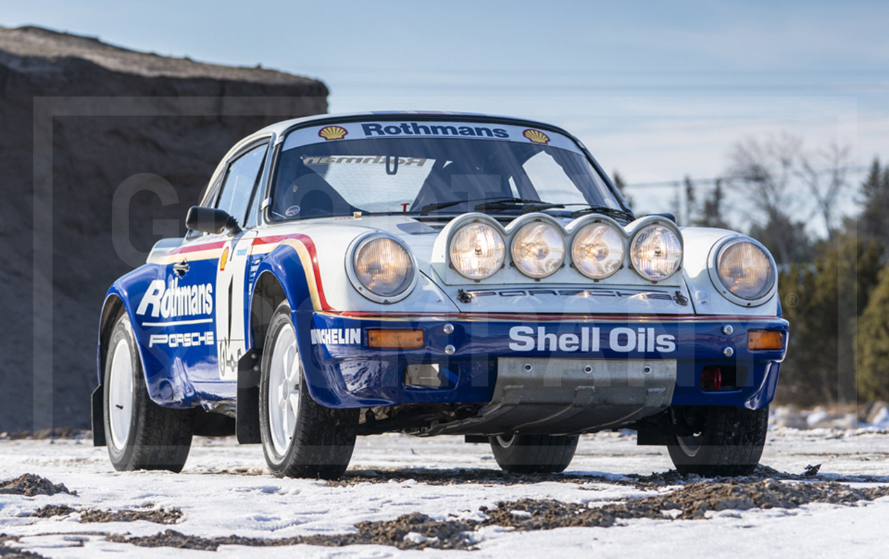 1984 Porsche 911 Sc Rs Factory Rothmans Rally Car Gooding Amelia