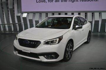 2020 Subaru Legacy Brings Big Screen and Turbocharged Power to Eager Buyers [Video]