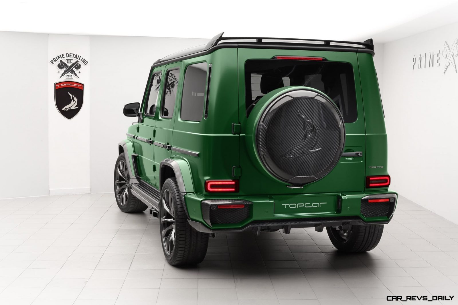 Mercedes-Benz G-Class INFERNO by TopCar Design » CAR