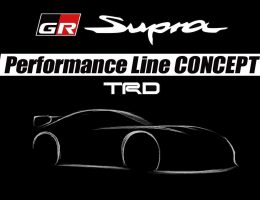 Toyota Teases GR Supra Performance Line Concept Ahead of February 9th