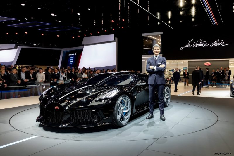 The Bugatti La Voiture Noire Has The Nicest Rear End In: 2019 Bugatti La Voiture Noire