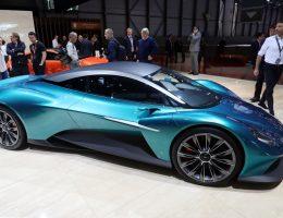 2019 Aston Martin Vanquish Vision Concept + RB-003 = Mid-Engine Mania!