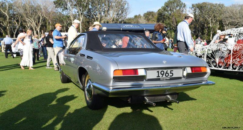 1965 Volkswagen Karmann-Ghia Type 1 Concept - Amelia Concours 2019 12
