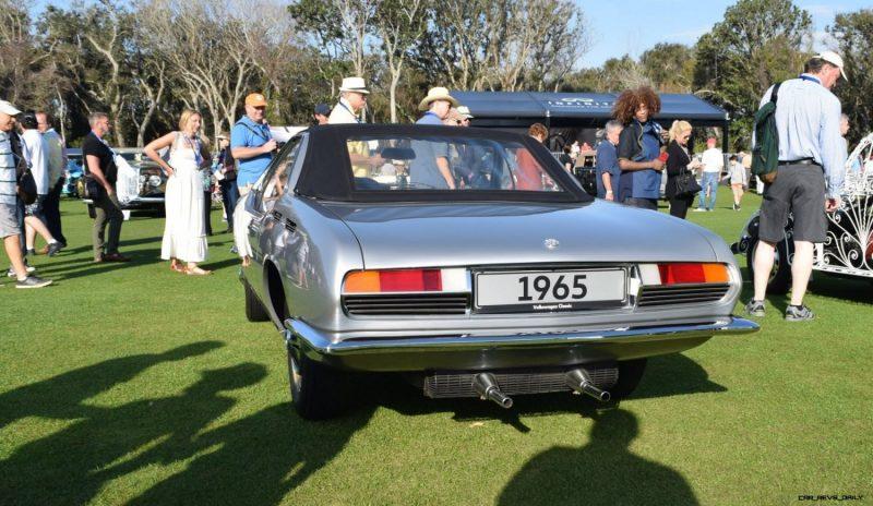 1965 Volkswagen Karmann-Ghia Type 1 Concept - Amelia Concours 2019 13