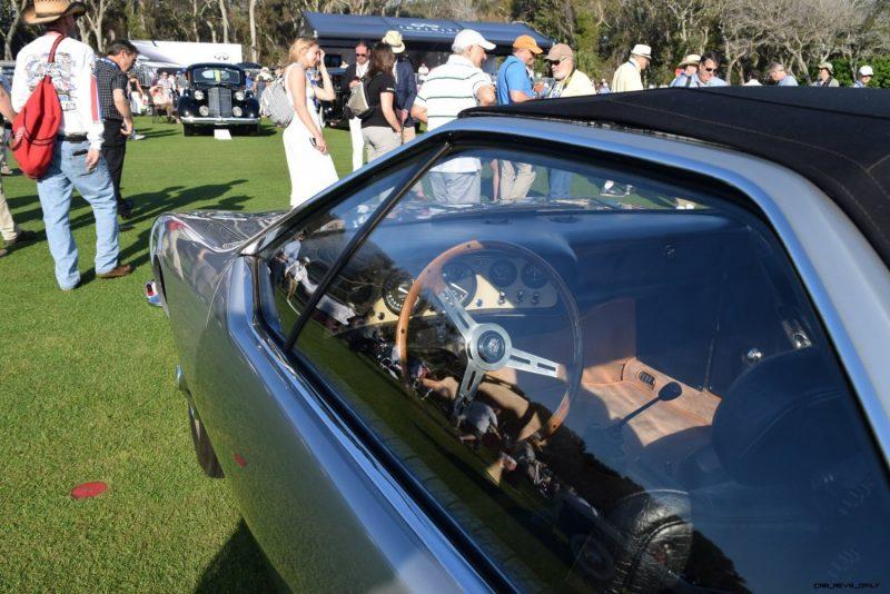 1965 Volkswagen Karmann-Ghia Type 1 Concept - Amelia Concours 2019 21
