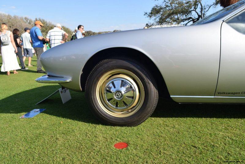 1965 Volkswagen Karmann-Ghia Type 1 Concept - Amelia Concours 2019 23