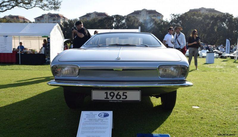 1965 Volkswagen Karmann-Ghia Type 1 Concept - Amelia Concours 2019 3