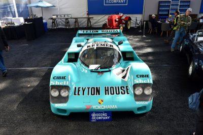 1987 Kremer Porsche 962C 11