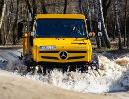2019 Unimog U128 – Extreme Terrain Driving Experience Gallery