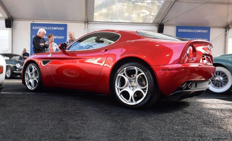 2008 Alfa Romeo 8C Competizione 16