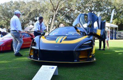 McLaren Senna Amelia Island 1