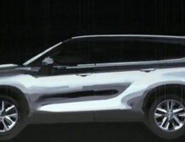 2020 Toyota Highlander Teases Sleeker Design With 3D Images