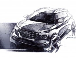 Hyundai Sheds More Light On Upcoming Venue CUV With New Sketches